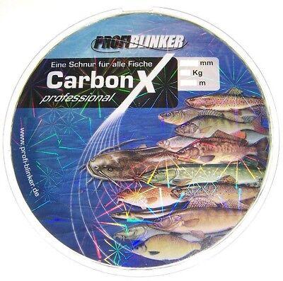Angelschnur Profi Blinker Carbon-X Professional 0,22mm 300m Monofile Schnur