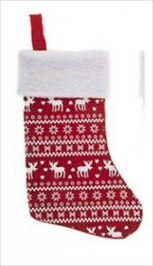 Nordic-Yute-Navidad-Saco-Media-De-Navidad-Festivo-Decoracion-Bolsa-De-Regalo-40cm-X-25cm