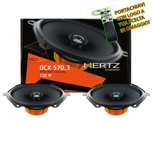 Hertz DCX 570.3 Coppia Casse Kit Altoparlanti Set Coassiali Ovali 13X18CM 120W