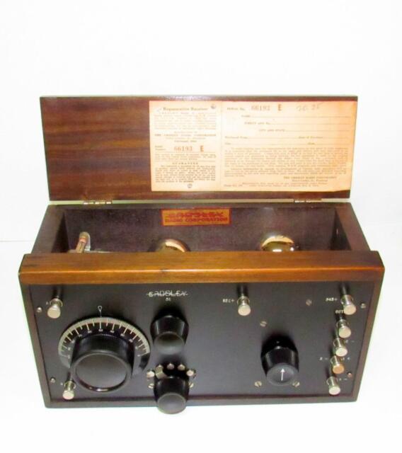 1924 Crosley radio model 51-Late Version. Very Nice!