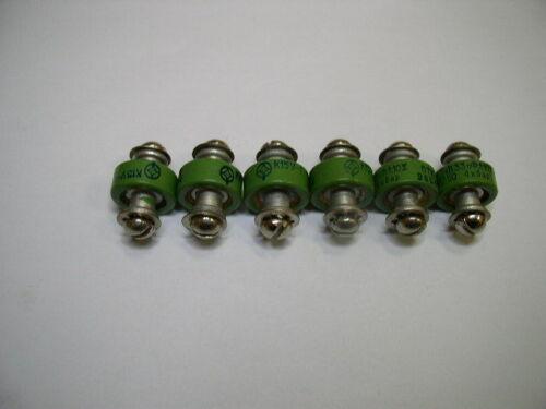 //-10/% 3.5kV NOS Lot of 6pcs. Doorknob Capacitor K15Y-1 39pf