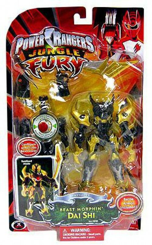 Power rangers dschungel wut battlized Besteie morphin dai shi action - figur