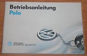 VW-Polo-Betriebsanleitung-Bedienungsanleitung-Handbuch-1987