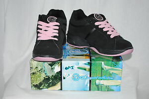NEW Woman Air Roller Shoes ONE Wheel Skate Black Pink 221 SPORT COLLECTION: 5-8