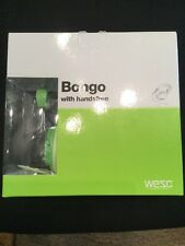 WESC Bongo Seasonal On Ear Headphones Lime Peel Green iPhone Brand New In Box