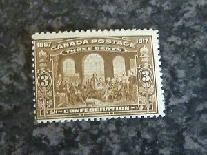 CANADA-POSTAGE-STAMP-SG244-5-3C-BROWN-LIGHTLY-MOUNTED-MINT