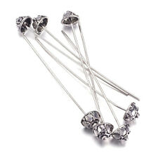 20mm 24 gauge 0.60mm thickness 925 Sterling Silver french Ear Wires 3 Pairs.
