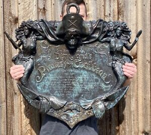 FULL-SIZE-33-034-Pirates-of-the-Caribbean-Disneyland-Park-Attraction-Sign-Prop-50th