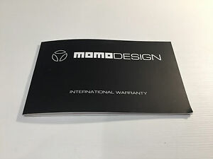 Booklet momo design international warranty booklet italian for image is loading booklet momo design international warranty booklet italian for colourmoves