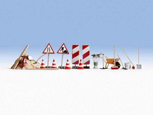 letreros pilones Todavía 14805 construcción de carreteras-accesorios etc + nuevo en OVP por ejemplo