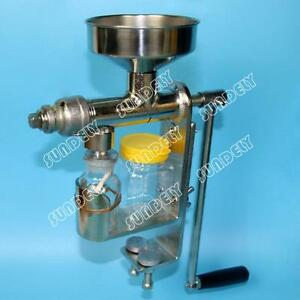 HD Manual Oil Press Machine Expeller Extractor Stainless Steel304 Homemade oil - Manchester, United Kingdom - HD Manual Oil Press Machine Expeller Extractor Stainless Steel304 Homemade oil - Manchester, United Kingdom
