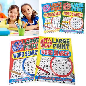 2-ricerca-Parola-Libro-Puzzle-Large-Print-A4-apprendimento-ATTIVITA-039-cerebrale-Puzzle-TEASER