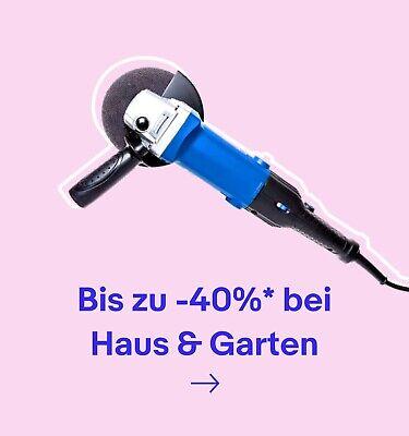 Bis zu -40%* bei  Haus & Garten