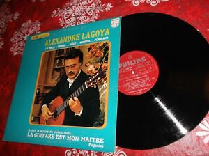 Alexandre-Segovia-La-guitare-est-mon-maitre-LP-Album-Canada-pressing