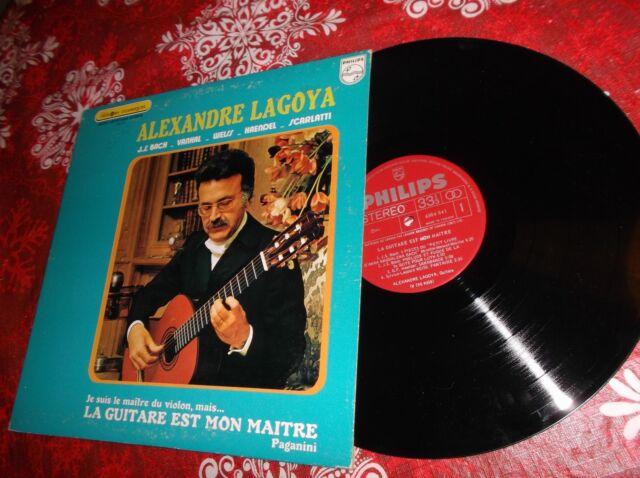 Alexandre Segovia  La guitare est mon maitre LP Album Canada pressing