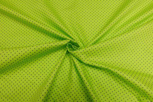 100/% Cotton Poplin Small Polka Dot Spot Dotty Craft Dressmaking Fabric Material