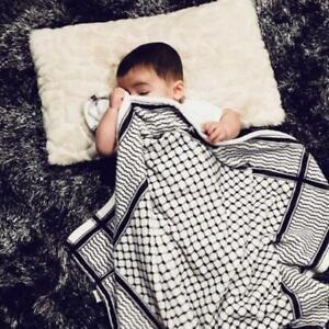 Hatta-Kuffiyeh-Polyester-Fleece-Baby-Blanket