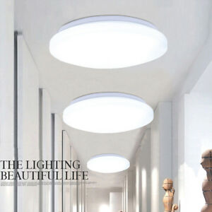 Image Is Loading Bright 24w Round Led Ceiling Down Light Panel