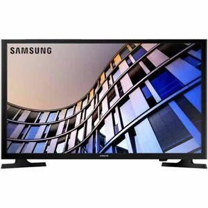 "Black-Samsung 32"" Smart LED HDTV w/ 720p Resolution, 2 HDMI, 1 USB Port & WiFi"