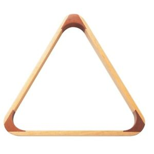 Powerglide-Wooden-Triangle-2-1-6-034-Wood-Classic-Suitable-Snooker-Pool-Sizes