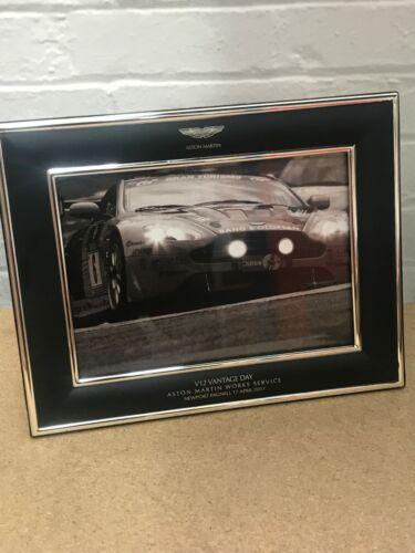 Aston Martin Works Service /'V12 Vantage Day/' Framed Photo