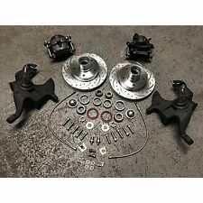 "1964-1972 Chevy A-Body 2"" Drop Disc Brake Conversion Kit Chevelle El Camino"