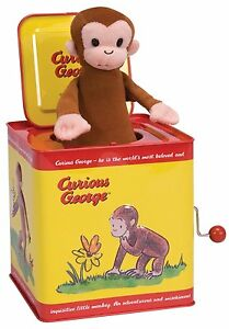 Curious George Jack in the Box , New, Free Shipping