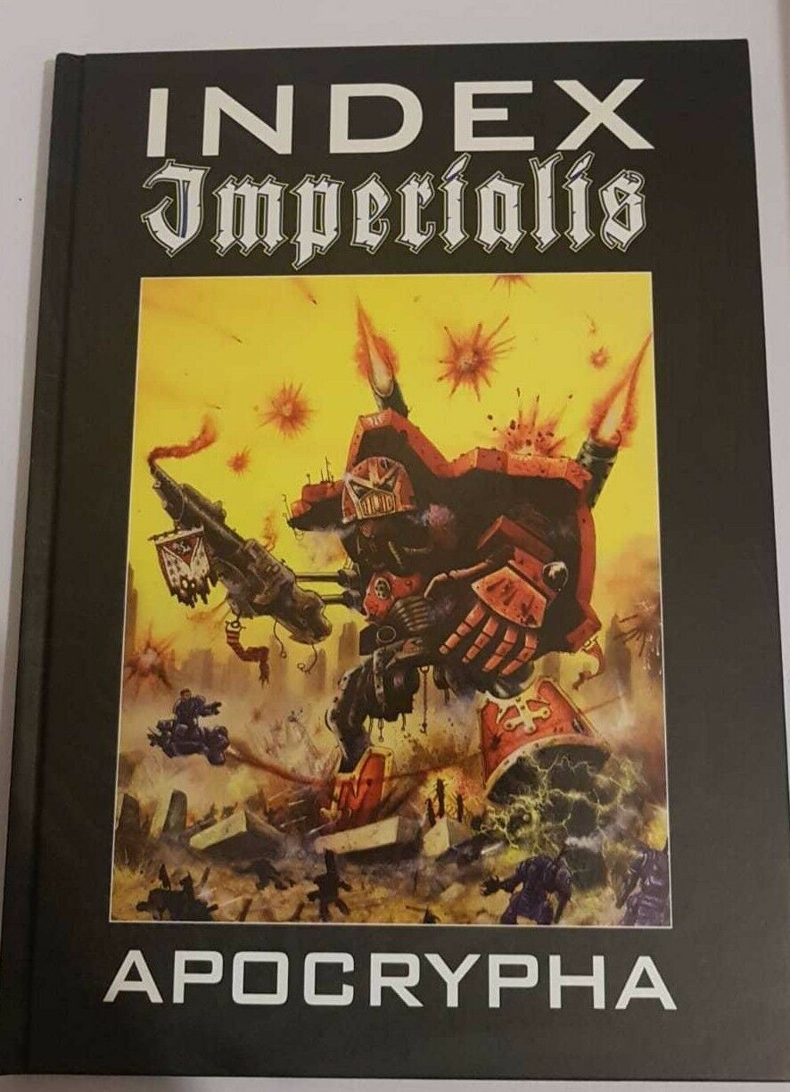 Games Games Games Workshop-Index imperialis Apocrypha Brand new Épuisé 80bf99