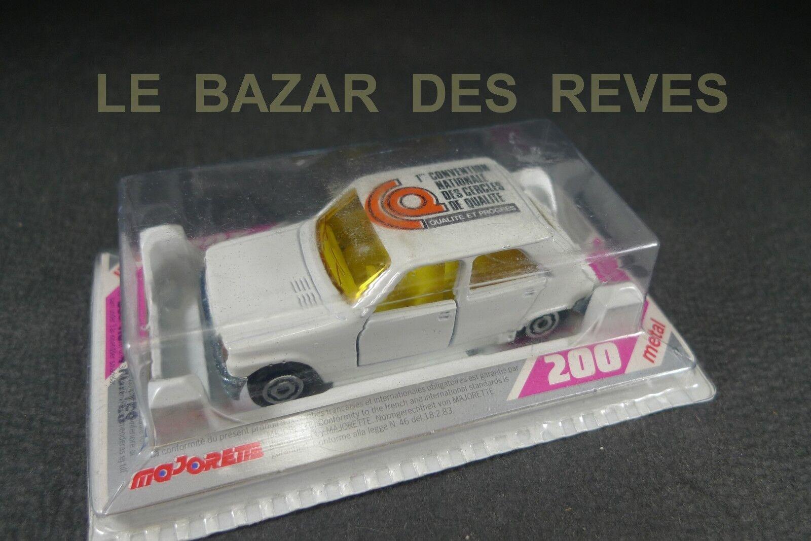 MAJORETTE FRANCE. RENAULT 5 publicitaire  convention nationale...    REF  200.