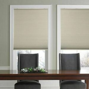 Real Simple Cordless Blackout Cellular 31.5-Inch x 48-Inch Shade in Sand