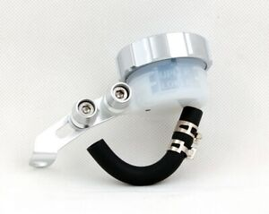 Clutch Brake Oil Fluid Reservoir For Honda Kawasaki Suzuki Yamaha Ducati Chrom A
