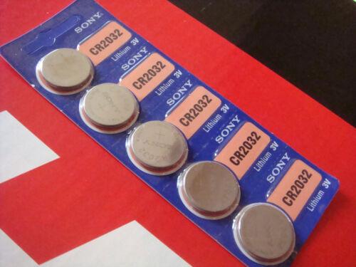 10 X SONY Batterie lithium SAV cle MB CR 2032 3V TELECOMMANDE VEHICULE MERCEDES