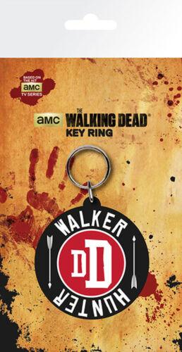Walker Hunter ca 5 cm The Walking Dead Gummi Schlüsselanhänger Keyring