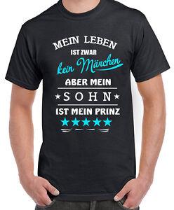 Details Zu Fun Shirt Mein Leben Ist Zwar Kein Märchen Papa Vater Sohn Baby Prinz Spruch