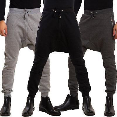 Pantaloni uomo harem cerniere cavallo basso sportivi tuta hipster TOOCOOL K 118 | eBay