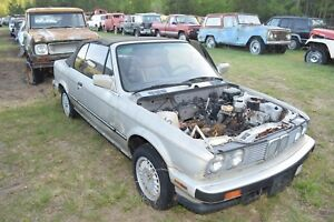 Image Is Loading 1990 Bmw 325i Convertible Project Or Parts Car