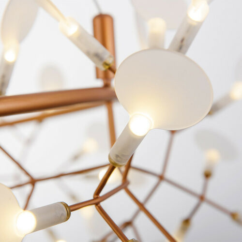 81 Lights Sputnik Firefly Chandelier LED Pendant Lamp Ceiling Fixture Light New