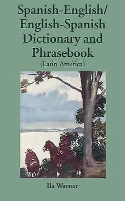 1 of 1 - Spanish-English/English-Spanish (Latin America) Dictionary & Phrasebook (Diction