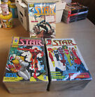 STAR MAGAZINE serie completa da 1 a 57 Star Comics blisterati supereroi Marvel