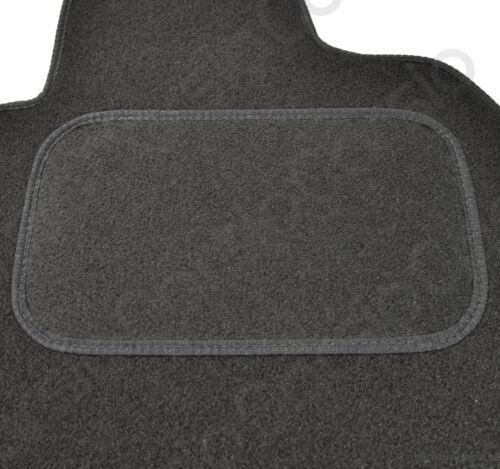 Onwards Fully Tailored Black Car Floor Mats Carpet 4pc 4clips Ford Kuga 2015