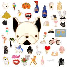 Pin badge Kawaii. Pin badges Cute lama Punk Goth Sets. Enamel DIY 90+ Designs