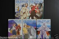 JAPAN novel: RahXephon 1~5 Complete Set