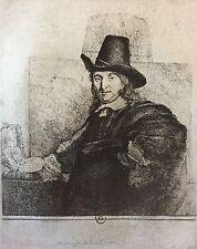 Rembrandt van Rijn héliogravure  XIXe Jan Asselijn