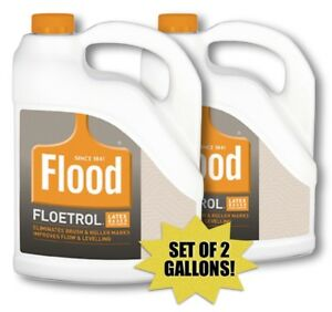 Flood Floetrol 00615 Paint Conditioner 2 Gallon Set 10273006159