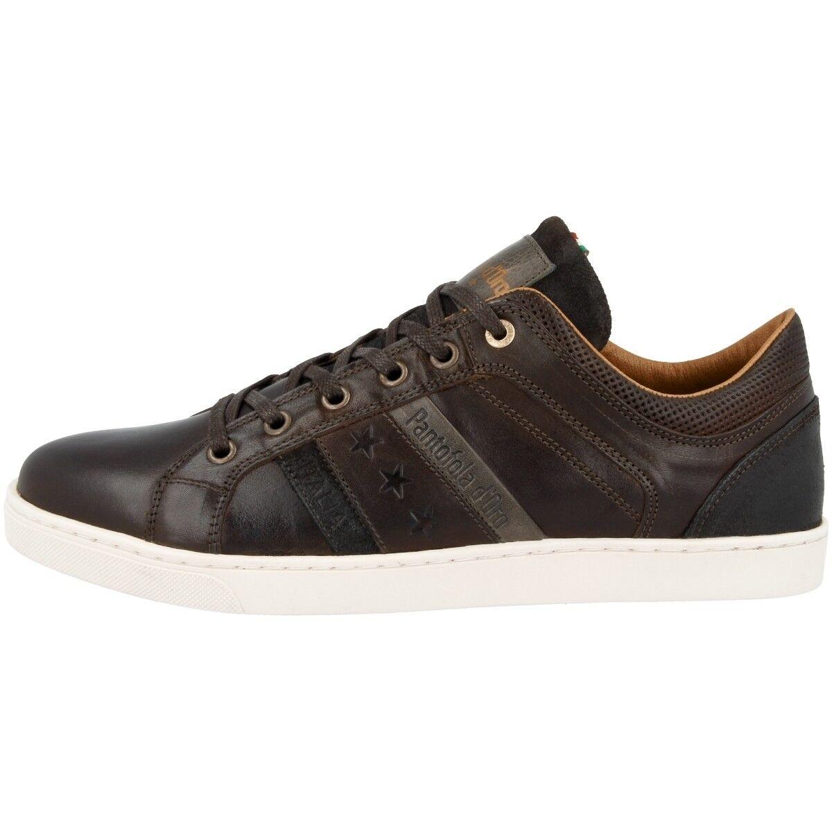 Pantofola d Oro Enzo Uomo Low Schuhe Freizeit Sneaker coffee bean 10183020.IKU