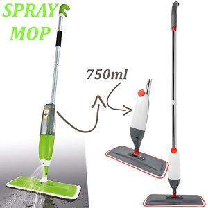 SPRAY-MOP-WATER-SPRAYING-FLOOR-CLEANER-TILES-MARBLE-KITCHEN-750ML-MICRO-FIBRE