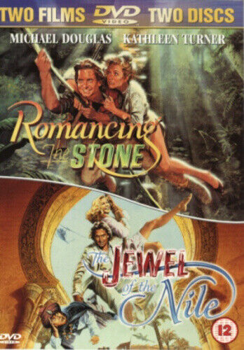 Romancing the Stone/The Jewel of the Nile [Region 2] - DVD - New