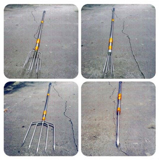 B/&M 7PKS Stainless Steel Spear
