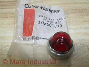 Cutler-Hammer-10250TC13-Eaton-Red-Glass-Lens