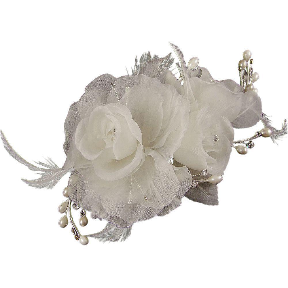 Lydia Elaborate Wedding Hair Flower (e2087hs)